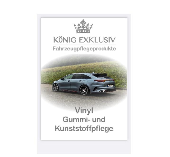 vinyl kunststoffpflege